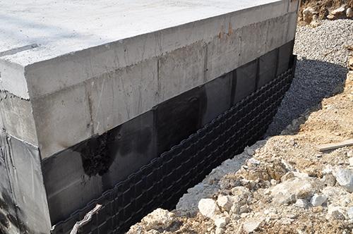 impermeabilizzazione muri in cemento armato controterra