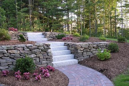 Recinzioni e muri di contenimento occorre permesso di - Muretti per giardino ...