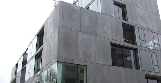 pareti in fibra di vetro resistenti a fuoco acqua e vento