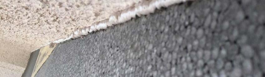 Muro con isolamento termico a cappotto