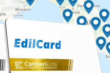 Edil Card di CantieriEdili.net: tutte le informazioni sull'edilizia italiana.