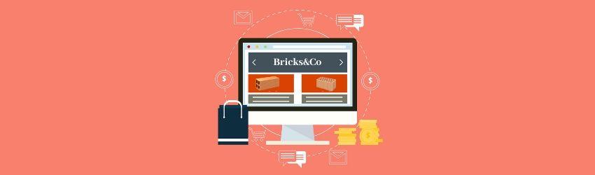 vendere materiale edile online